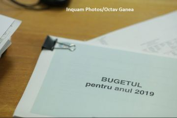 Proiectul Legii bugetului de stat pe 2019 a trecut de comisiile reunite de buget-finanţe din Parlament