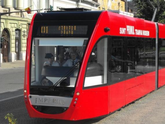 Tramvaiele fabricate la Arad invadează România. În ce orașe vor circula modelele Imperio şi Autentic