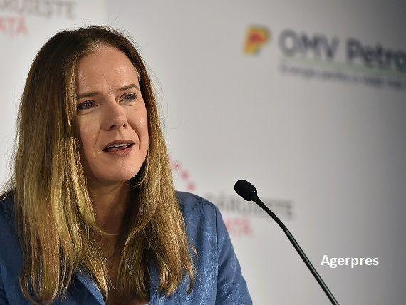 Christina Verchere rămâne încă patru ani la conducerea OMV Petrom
