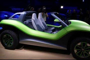 Salonul auto de la Geneva. Varianta electrică a faimosului vehicul Volkswagen Buggy