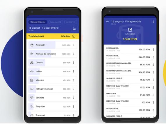 O echipă de IT-iști din Cluj a dezvoltat o aplicație care îţi supraveghează cheltuielile și-ți arată pe ce dai banii