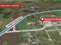 """CFR promite că linia de la Gara de Nord la Otopeni va fi gata până anul viitor, printr-o minune: """"Să construiască într-o noapte cât alții în șapte"""""""