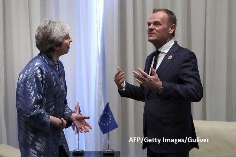 AFP: Cele 27 de state membre UE se pregătesc să respingă solicitarea Theresei May de amânare a Brexitului, până în iunie