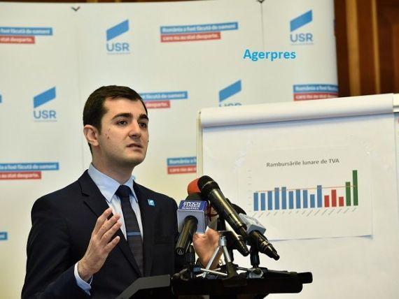 USR cere demisia ministrului Finanțelor. Năsui:  A falsificat datele privind deficitul bugetar, sabotând economia naţională