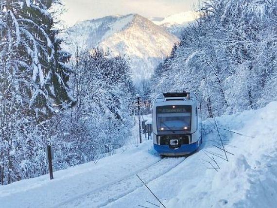 Primul tren turistic care traversează regiunile arctice ale Rusiei a plecat din Sankt Petersburg spre Norvegia