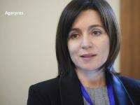 Premierul R. Moldova, Maia Sandu, în vizită oficială la București