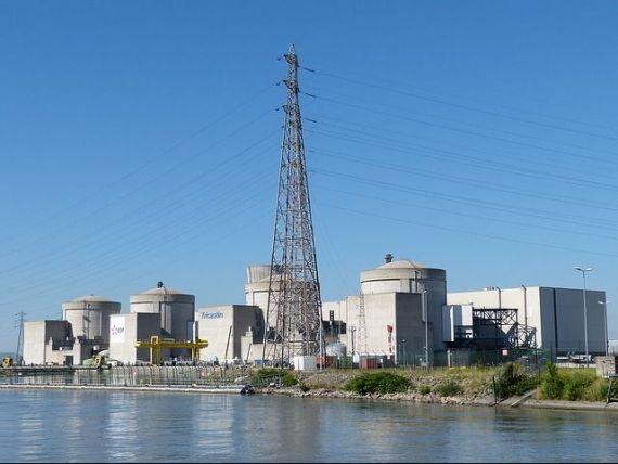 Alertă în Franța.  Contaminare  radioactivă pe fluviul Loara, în avalul a cinci centrale nucleare
