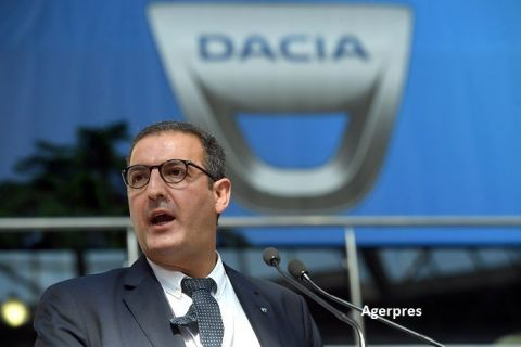 """Dridi, Automobile Dacia: """"Industria auto reprezintă 14% din PIB şi 26% din exporturi. În următorii trei ani vom investi încă 800 mil. euro în România"""""""