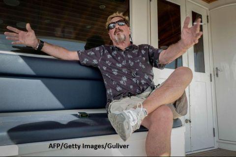 Controversatul milionar John McAfee, care se ascunde la Havana, propune crearea unei criptomonede pentru evitarea embargoului impus de SUA Cubei
