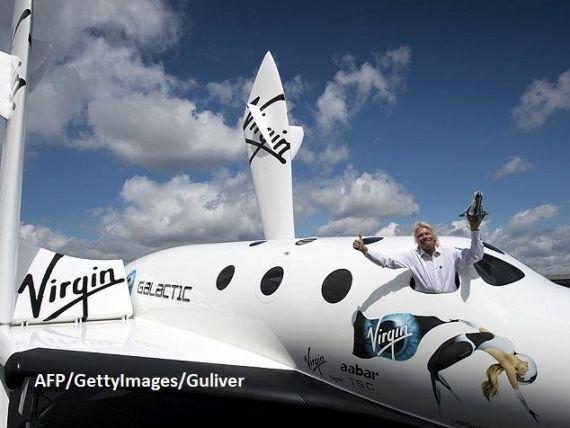 Virgin Galactic, compania spaţială a miliardarului Richard Branson, intenţionează să se listeze la bursă