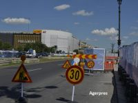 Primăria Capitalei reorganizează circulaţia în Piaţa Unirii. Restricții, începând de vineri