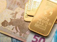 Euro scade spre 4,72 lei. Preţul gramului de aur se apropie din nou de nivelul record de săptămâna trecută