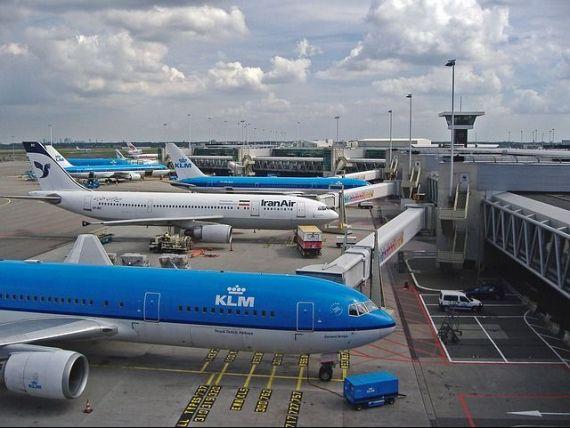 Grevă pe aeroportul Schiphol din Amsterdam. Zborurile vor fi afectate întreaga săptămână