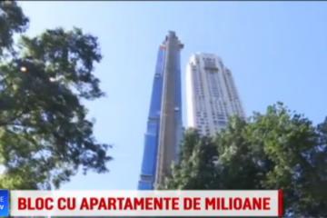 Cea mai înaltă clădire rezidențială din lume se ridică în inima Manhattan-ului. Cât costă un apartament aici