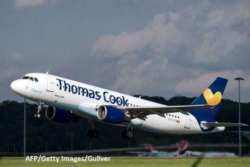 Falimentul celei mai vechi companii de turism din lume ar putea genera cea mai amplă repatriere pe timp de pace din istoria britanică. Thomas Cook luptă pentru supravieţuire