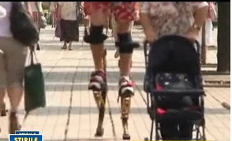 Romanii au talent! Timisoreanul cu patru recorduri pe picioroange